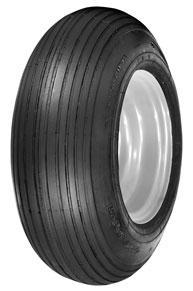 Wheelbarrow Rib Tires